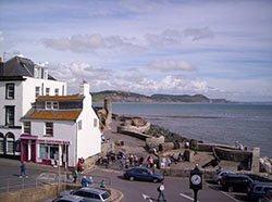 "Lyme Regis, Dorset"" hspace="