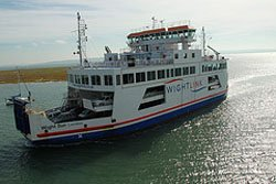 Lymington to Yarmouth car ferry