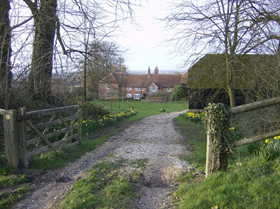 "Nuthanger Farm, yes the farm in Richard Adam's book 'Watership Down' "" hspace="