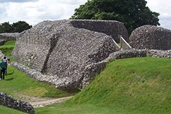The ruins at Old Sarum