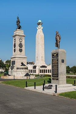 Three Memorials in Plymouth