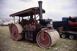 Road Roller at the Great Dorset Steam Fair