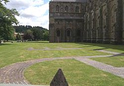 "Site of Winchester Minster"" hspace="