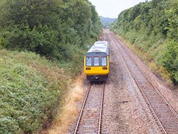 "Train on the Tarka Line"" hspace="