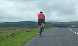 The pleasures of cycling on the wilds of Dartmoor