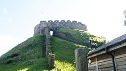 """Totnes Castle"""" hspace="""