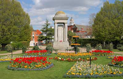 Vivary Park, Taunton hspace=