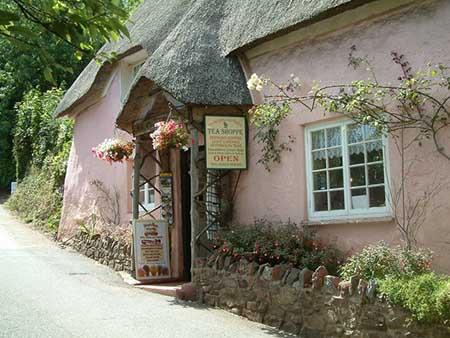 """Weaver's Cottage, Cockington"""" hspace="""