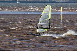 """Windsurfing Exmouth"""" hspace="""